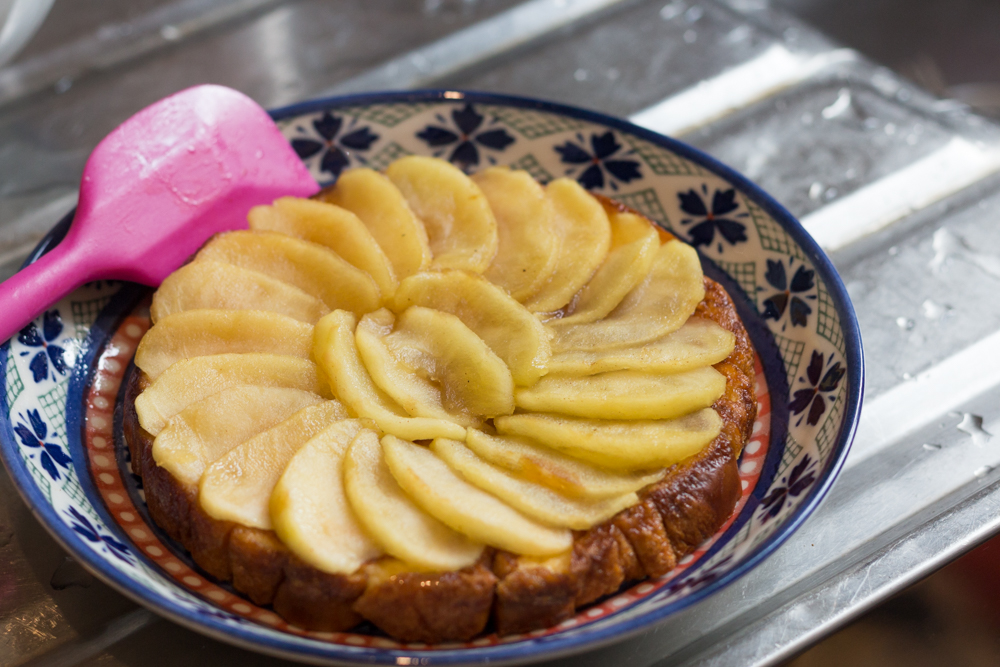 150712 - Flip Over Easy Apple Tart - 009