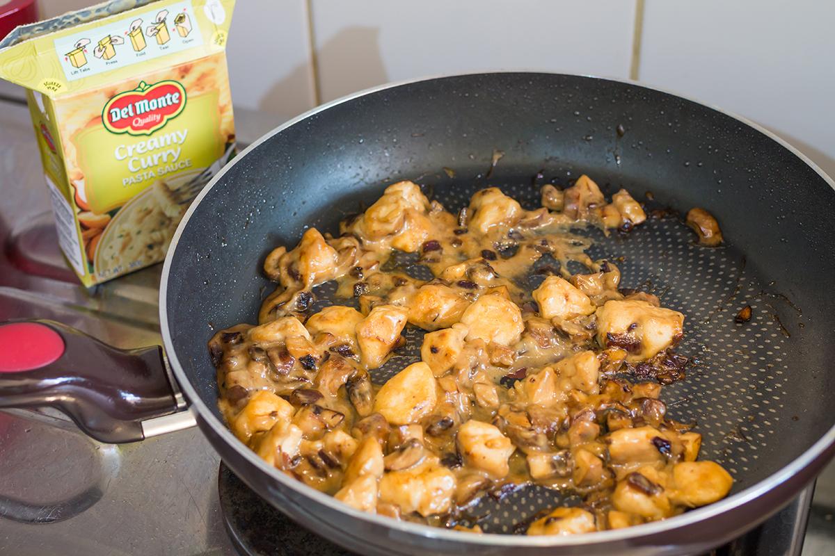 151128 - Curry Chicken Mushroom Pie - 005