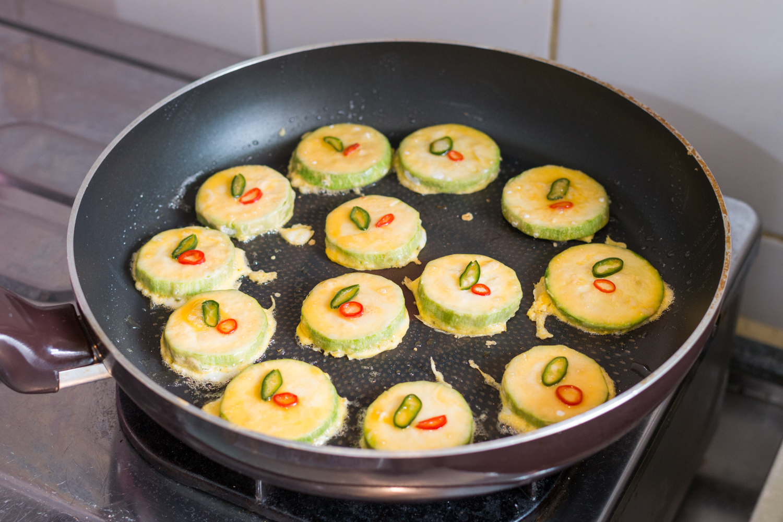160528 - Korean Zucchini Fritter (Hobak Jeon) - 006