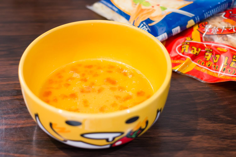 160709 - Cheesy Tamagoyaki with Salted Duck Egg and Pork Floss - 002