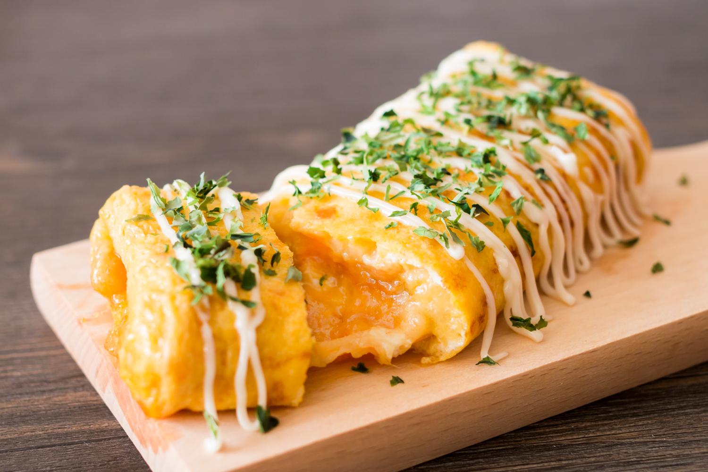 160709 - Cheesy Tamagoyaki with Salted Duck Egg and Pork Floss - 008